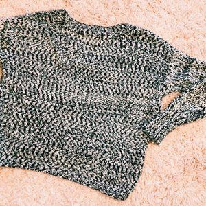 Anthropologie Sweaters - Anthropologie Yes Lola Black & White Cozy Sweater